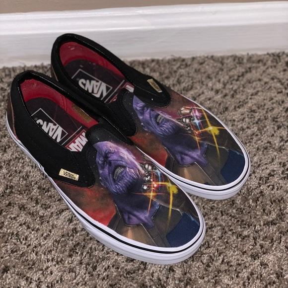 Vans Shoes | Marvel Thanos Vans | Poshmark